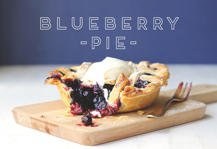 Blueberry Pie is what I imagine every cartoon pie cooling on a windowsill to taste like. It's the exact right combination of pure, sweet berry flavour, and buttery, flaky crust that my childhood imagination conjured up and salivated over....