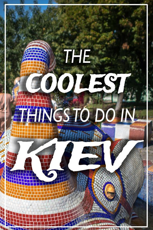 The coolest things to do in Kiev! This seemingly plain capital city of Ukraine has a lot more to offer under the surface.