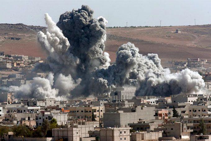 Bombardeo liderado por EEUU en Siria deja civiles muertos