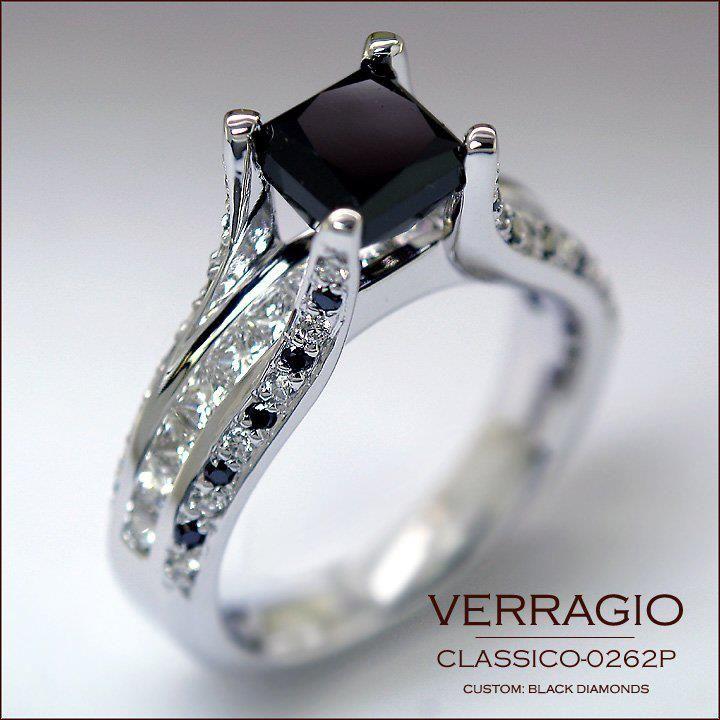 Custom Verragio Engagement Ring