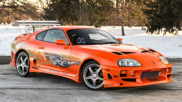 Paul Walker's car from 'Fast And Furious' movie up for auction – automotive99.com