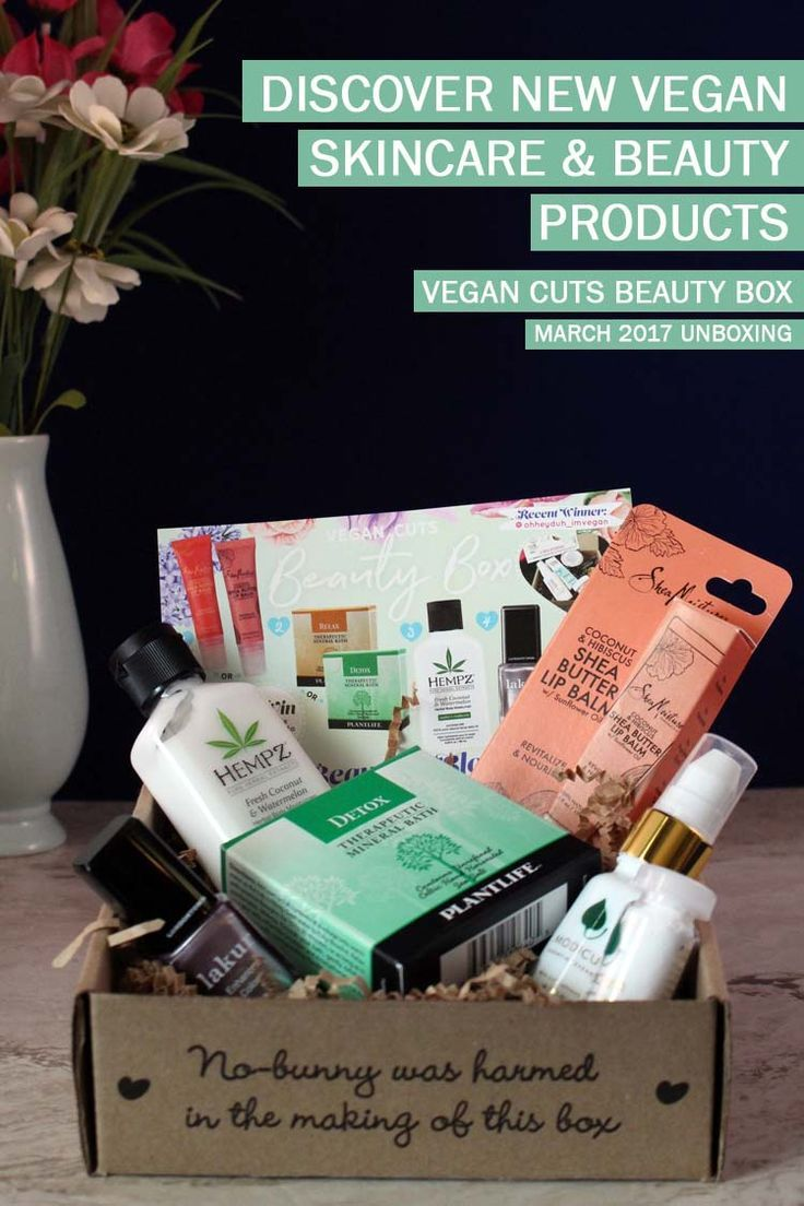 Unboxing the March 2017 vegan cuts beauty box. 5 cruelty free skincare and makeup products featuring nail polish, cleanser, body lotion lip balm & bath salt