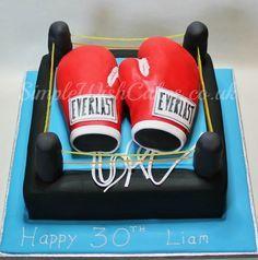 Boxing Cake Megan obrien