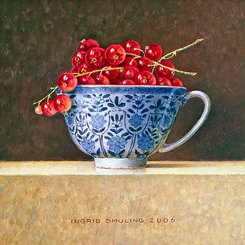 Aalbessen in kopje - Ingrid Smuling