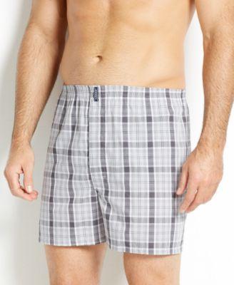 Jockey Men's Underwear, Classic Full Cut Boxer 4 Pack - Assorted Blue XXL