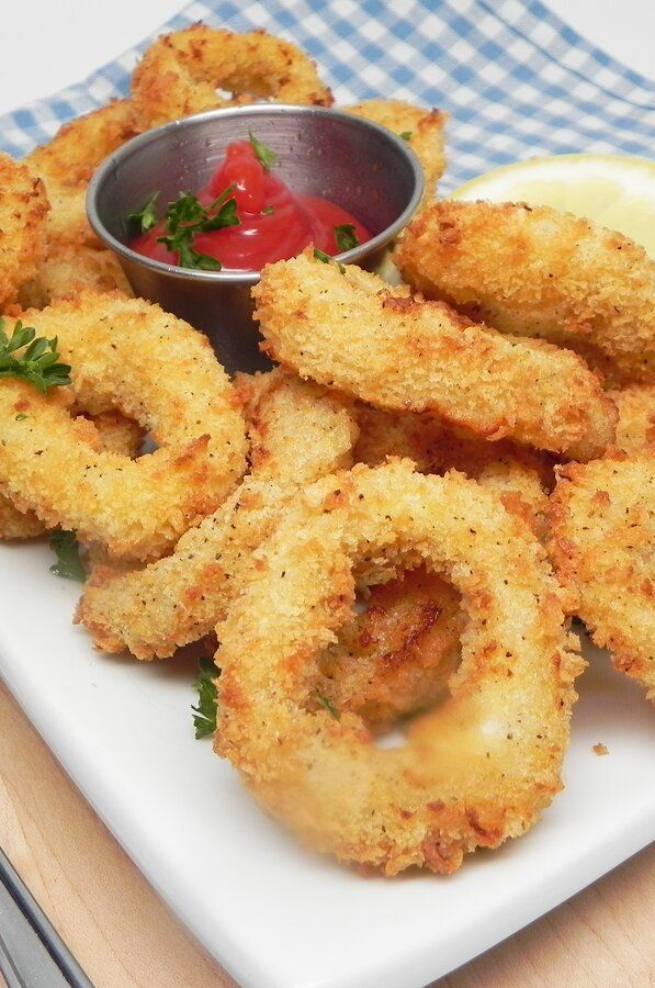 Air Fryer Calamari Recipe in 2020 Food, Recipes