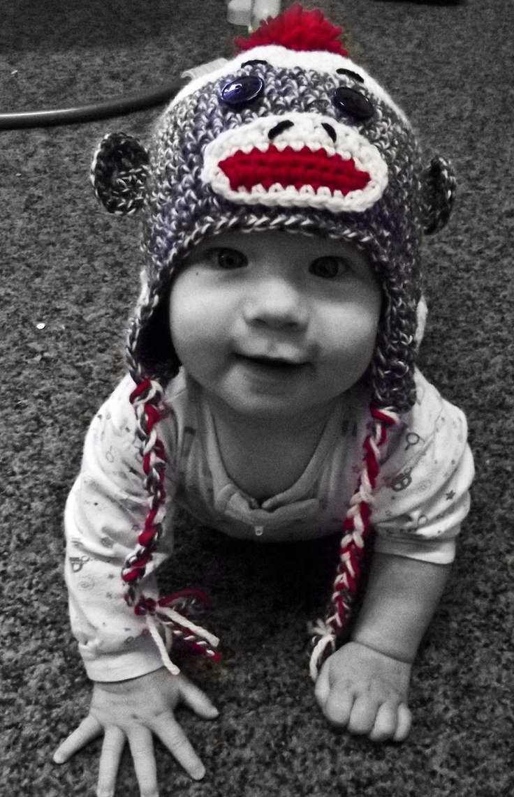 538 best crochet baby hats warmers images on pinterest free crochet patterns to print the worsted crochet blog cats sock monkey hat pattern bankloansurffo Images