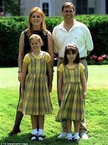 Prince Andrew and Princess Sarah, Duke & Duchess of York with their daughters Princesses Beatrice & Eugenie - Bing Images