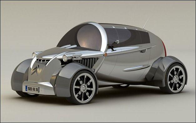 citroen new 2cv concept cars pinterest. Black Bedroom Furniture Sets. Home Design Ideas