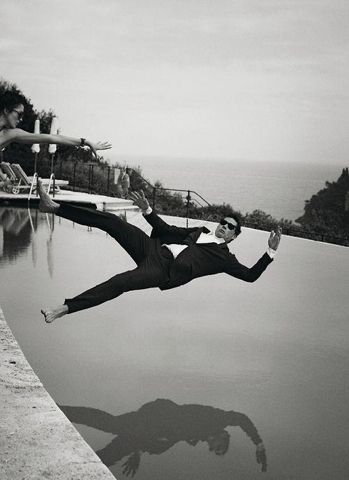 Robert Downey Jr. Photo by Peter Lindbergh.