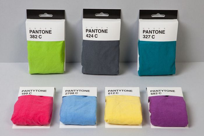 Pantone boxer briefs. | 12 Of The Best Package Designs