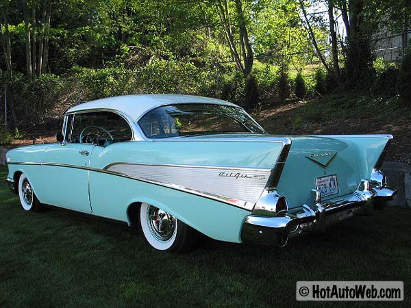 Chevrolet Bel Air (1957) one of the most coveted, collectible American auto classics!