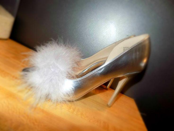 Shoe Hack: Making Old Heels New & Fabulous - The Urbane 23 DIY FUR HEELS