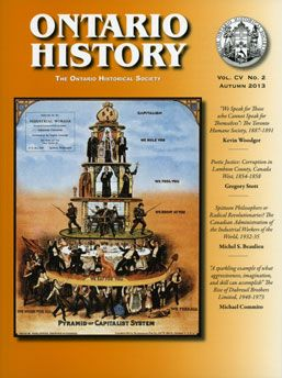 Ontario Historical Society (OHS)- online resource for Social Studies and History to support the inquiry process.