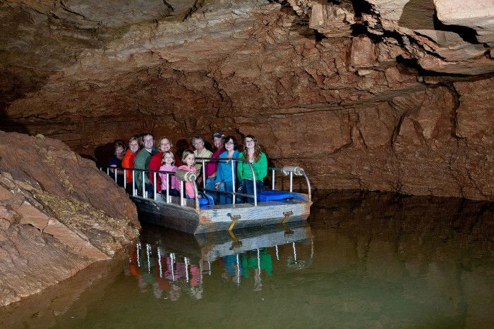ndiana Caverns in Corydon has the longest caves in Indiana to explore. Go on a walking tour through these gorgeous caves or explore via boat.