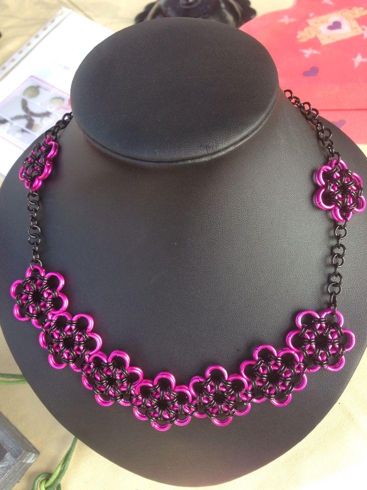 #halsketting gemaakt voor een #bruid / #necklace made on order for a #bride #bruidsjuwelen #bridaljewelry #bridesjewelery