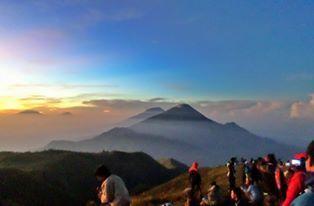 Top of Prau Mountain