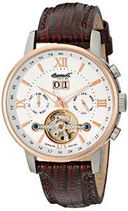 """Ingersoll Men's IN6900RWH """"Grand Canyon IV"""" Stainless Steel   watches.reviewatoz.com"""