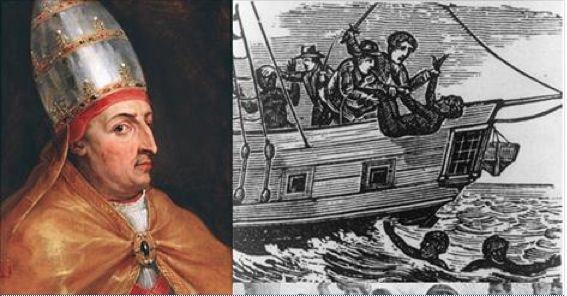 Le 8 Janvier 1854, le Pape Nicolas V et l'église catholique bénissent la traite négrière et l'esclavage (Mediapart) L'église catholique, accoudée à ses anciens coalisés de la période esclavagiste tente d'allumer des contre-feux médiatiques visant à faire...