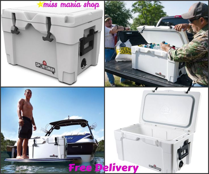 Cooler Box Igloo Sport Marine Cool Chest Insulation Foam Fishing Camping Outdoor