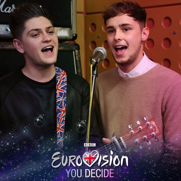 Joe and Jake will represent the UK at the 2016 Eurovision Song Contest