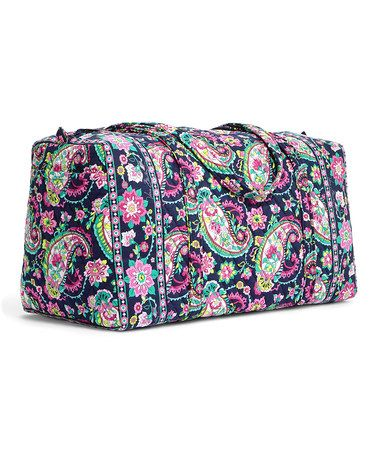Another great find on #zulily! Petal Paisley Large Duffel Bag #zulilyfinds