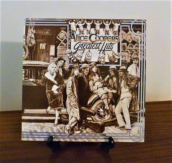 "$30     Vintage 1974 Alice Cooper - ""Alice Cooper's Greatest Hits"" Vinyl LP Album Released by Warner Bros. Records / Excellent Condition"