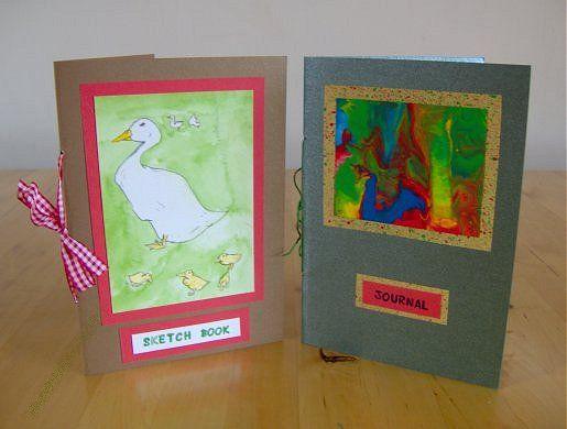 Things to make and do - Handmade books
