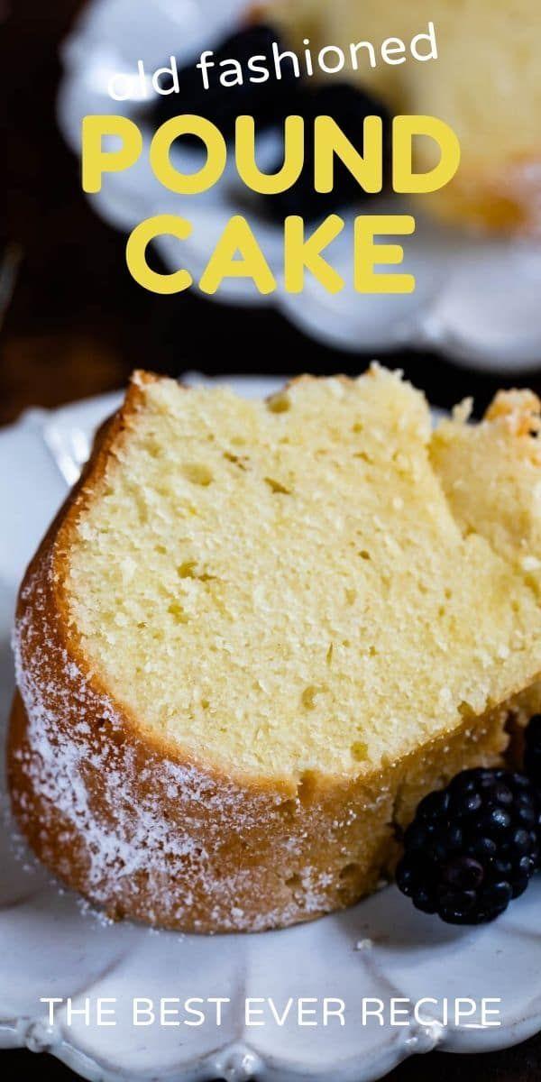 Classic Pound Cake Recipe Sour Cream Pound Cake Crazy For Crust Recipe In 2020 Pound Cake Recipes Cake Recipes Classic Pound Cake Recipe