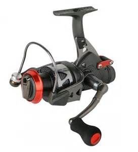 Okuma Trio Baitfeeder Reels  Okuma BF55 reel is a great striper reel  Baitfeeders aka baitrunner reels offer anglers a hands free live lining option with a automatically engaged primary drag  RI's baitrunner shop is Ocean State Tackle