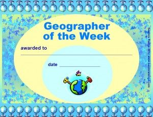 Geographer of the Week