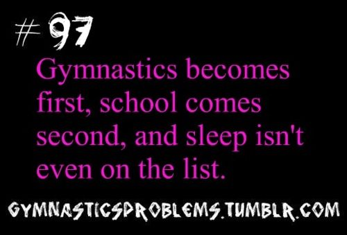 GYMNASTICS PROBLEMS for me it's gymnastics and animals family friends shopping school sleep