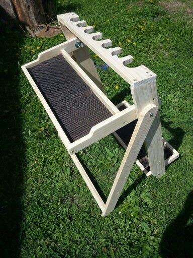 Range gun rack.***Stand-alone project idea***