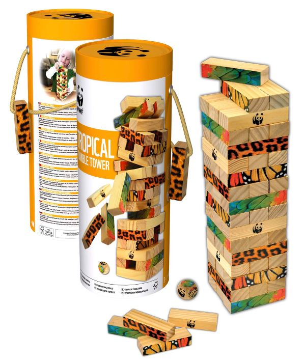 Ready for a family game - this is great for all ages which makes it even more fun and guarantees a laugh waiting to see who gets caught out! A percentage of proceeds goes back to WWF's conservation programs.
