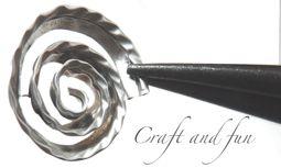 Riciclo Creativo - Craft and Fun: Tutorial rosellina da cialda nespresso