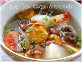 HESTI'S KITCHEN : yummy for your tummy: Sup Iga Kacang Merah