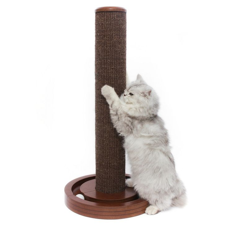 Cat Scratching Post, Brown