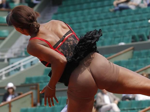 Consider, tennis wardrobe malfunction are not