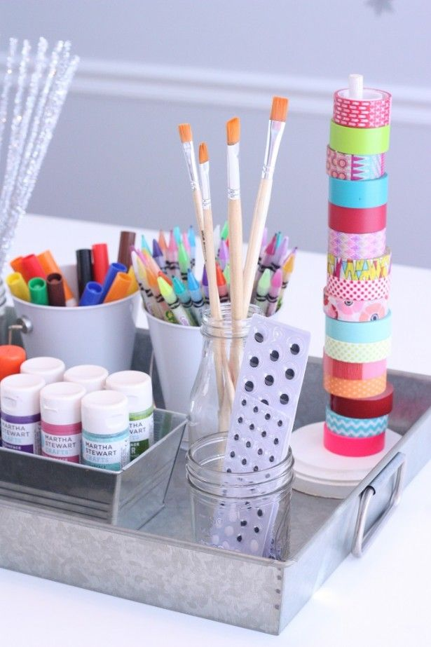 17 best images about spaces for the boys on pinterest for Kids craft room