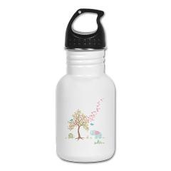 Adorable kid's water bottle that helps support children's tree planting projects!