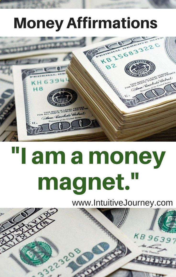 I am open to receiving financial abundance with ease, so that I may be able to give back even more to the world around me.
