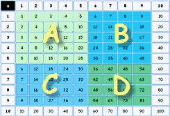 Multiplication - Times Tables -- GREAT testing trainer on here, timed and remembers your progress and weaknesses