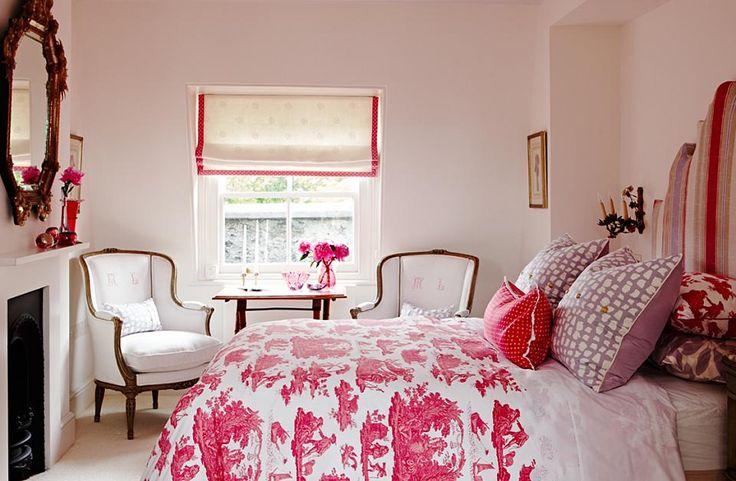 Pink bedroom sarah richardson design bedrooms - Sarah richardson living room ideas ...