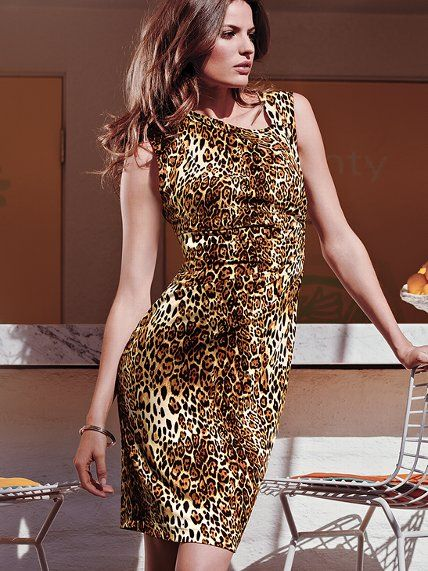 Leopard-print Shift Dress - Victoria's Secret