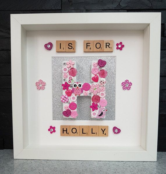 The 14 best personalised box frames images on Pinterest ...