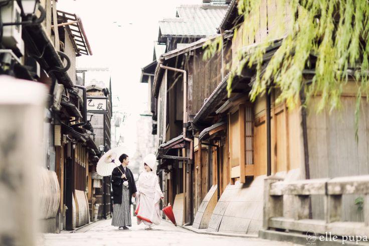 京都ロケーション前撮り @祇園とインクライン |*ウェディングフォト elle pupa blog*