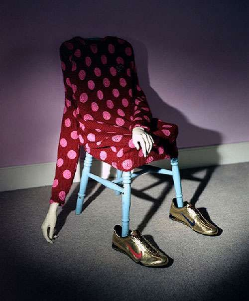 Quirky Fashion Photography - Bizarre Photos Without Torsos by Annie Collinge (GALLERY)