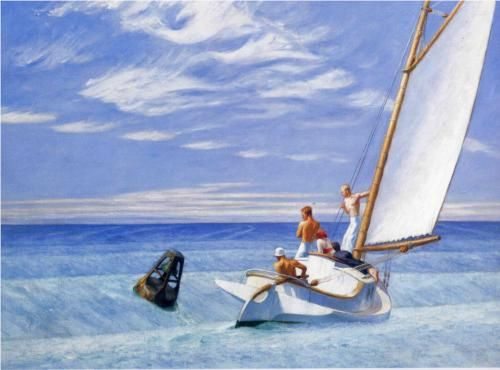Ground Swell - Edward Hopper 1939  Corcoran Gallery of Art, Washington, DC, USA