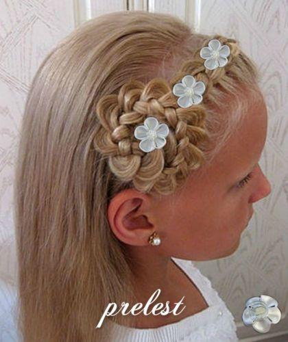Kommunion Frisuren Kranz Modische Haarschnitte Und Haarfärbungen