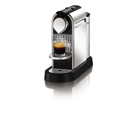 Quick and Easy Gift Ideas from the USA  Nespresso Citiz C111 Espresso Maker, Chrome http://welikedthis.com/nespresso-citiz-c111-espresso-maker-chrome #gifts #giftideas #welikedthisusa